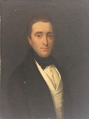 Avant Portrait gentilhomme