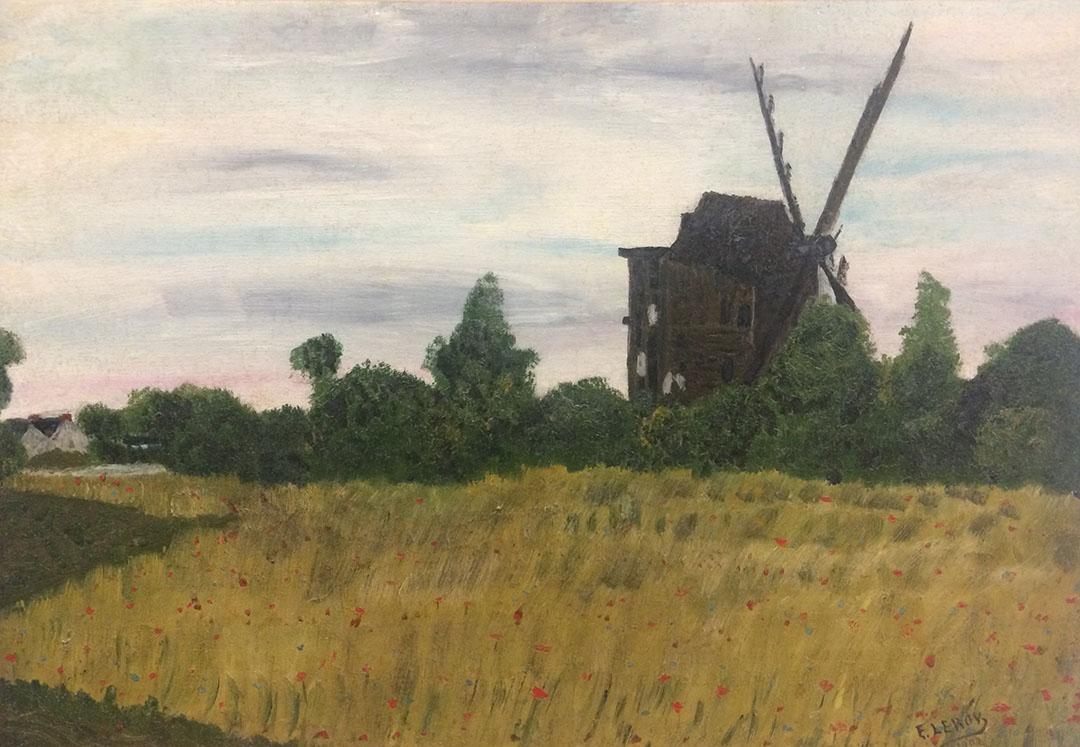 Restauration du moulin de Monthyon Après