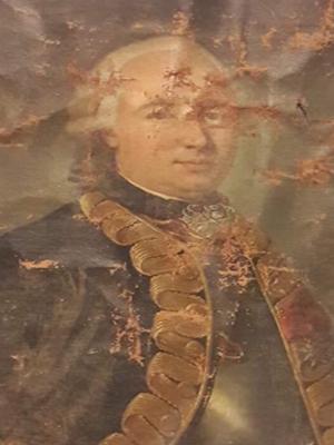 restauration peinture conte d'Anterroches